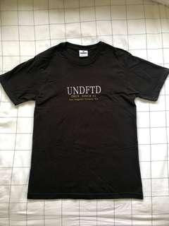 """Undefeated embroidery T-Shirt. Size """"M"""""""