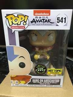 Funko Pop Chase Glow in the Dark Aang on Air Scooter
