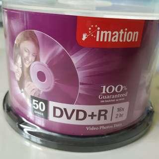 50 Piece, Unopened DVD+R