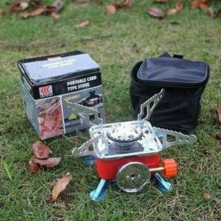 PORTABLE MINI CAMPING STOVE HIKING CAMPING PICNIC TRAVEL OUTDOOR!! FREE POSTAGE!!