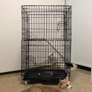 🚚 (Reserved) Cat Cage