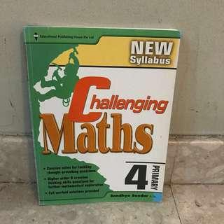 Challenging Maths Primary 4 Assessment Book