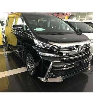 TOYOTA VELLFIRE 2.5 ZG PROMOTION FOR CHINESE NEW YEARS
