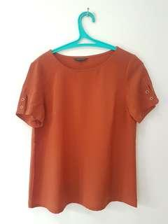 Blouse Executive Dark Orange
