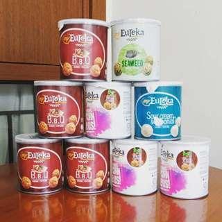 🚚 READY STOCKS | Eureka Gourmet Popcorn - BBQ/Caramel/Original Sea Salt 35g