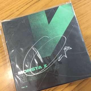 [wts] monsta x hyungwon mwave the connect signed