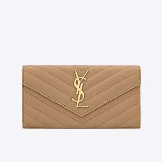 Authentic YSL Long Flap Wallet (Pre-order)