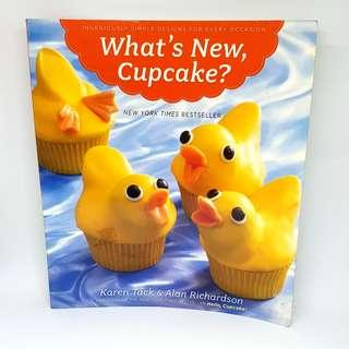 """🚚 Cupcake baking and decorating book: """"What's New, Cupcake?"""""""