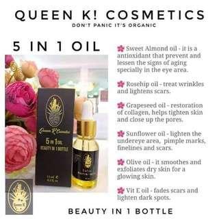Queen k 5in1 oil