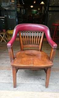 2930-40年代 真皮鉚釘木椅