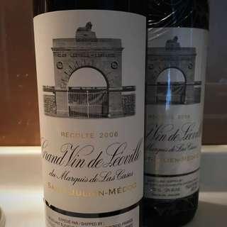 2006 Chateau Léoville-Las Cases, St Julien (1 bottle)
