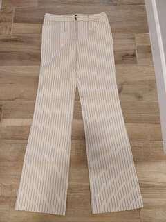 BCBG Maxazria stripy pants