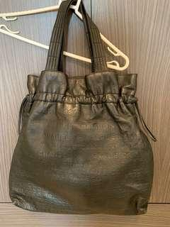Chanel leather bag Hermes lv prada bv
