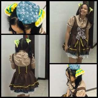 Japanese maid character