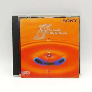 Sony The Leader in Digital Audio CD