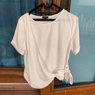 Blouse Cloth Inc size L white