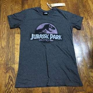 Brand new Cotton On Jurassic Park dark grey tee