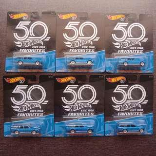 '71 Datsun Bluebird 510 Wagon LOT (Hot Wheels' 50th Anniversary Favorites)