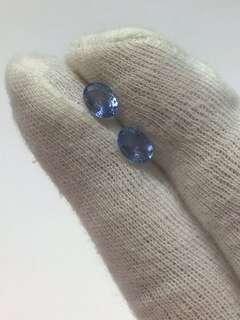 🚚 Blue Sapphire Pair Loose Stones