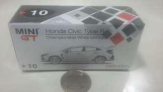 MINI GT Honda Civic Type R 1:64 跑車模型