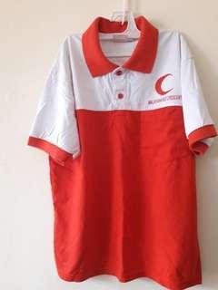T Shirt RED Crescent /Bulan Sabit Merah