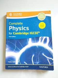 Oxford complete physics for cambridge igsce