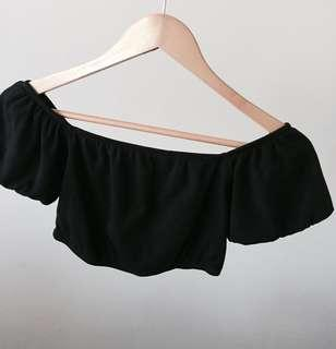 Sportgirl Crop Off-shoulder