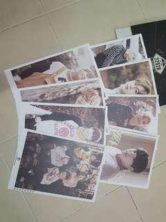 BTS 2ND MUSTER OFFICIAL 17161 MINI POSTER SET