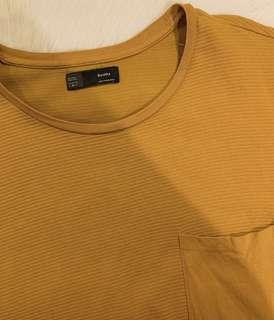 Bershka mustard yellow