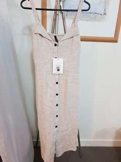 Staple the label linen dress