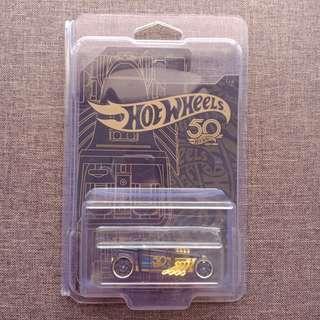 Bone Shaker CORRECT CARD (50th Anniversary Black and Gold)