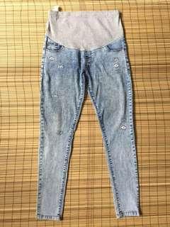 Maternity skinny jeans 32 inches hipline