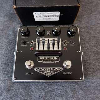 MESA Boogie Throttle Box EQ 2-channel Distortion / Overdrive Pedal
