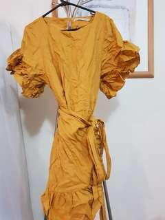 Hansen Gretel mustard dress 2