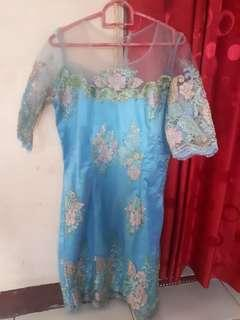 DRESS WANITA BIRU (GOOD CONDITION)