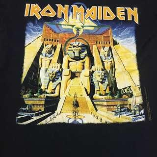 Iron Maiden Powerslave Tour Tshirt 84-85