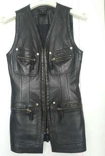 Gucci vest, very soft leather,size 40