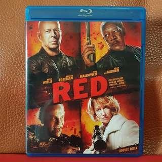 Sealed Blu-ray Movies》RED   #MakeSpaceForLove