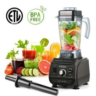 🚚 Professional High-Speed Blender for Commercial and Home Use - 1500W