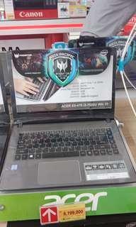 Acer e5 476386q,kredit tanpa cc