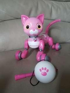 Pink Zommer Kitty Bella 電子寵物貓