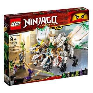 Ninjago Legacy Lego 70679 The Ultra Dragon