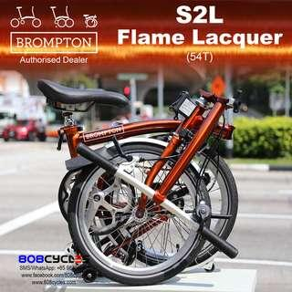 🚚 BROMPTON S2L Flame Lacquer