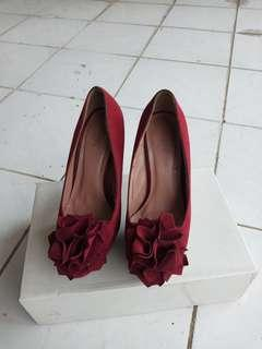 Amante red heels