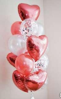 🚚 Heart Shape Balloon Bouquet