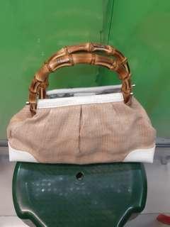 Loft bamboo handbag