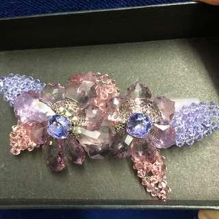 Alexandre de Paris hair clip made in France 高級珠寶法國人手製造髪飾