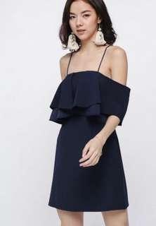 🚚 Love Bonito Theora Off Shoulder Dress (XS)