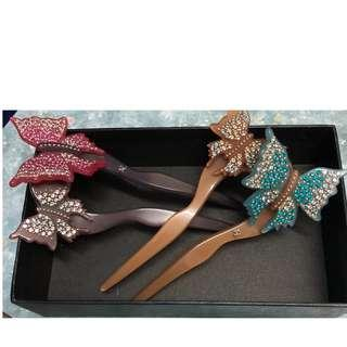 Alexendar Zouari hand made in France hair accessories 高級珠寶法國人手製造髪簪