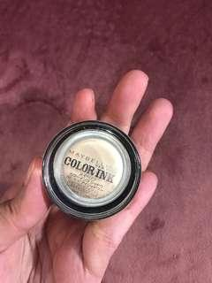 Maybelline Color Ink Cream Eyeshadow Pot